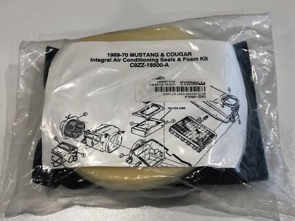 1969-70 mustang heater gasket with air con kit