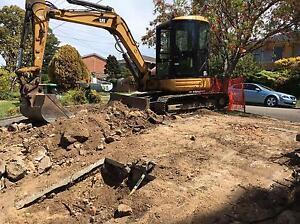 Excavator hire St Johns Park Fairfield Area Preview