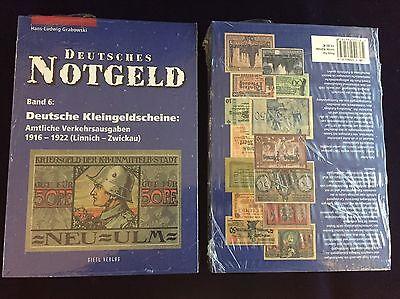 Deutsches Notgeld, Deutsche Kleingeldscheine,  Band 5 (A-L) u. 6 (L-Z) Grabowski