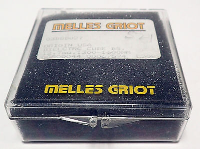 Melles Griot 03bsd027 Broadband Dielectric Cube Beamsplitter 12.7mm 1300-1600nm