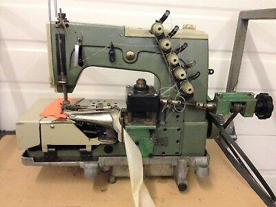 Kansai Dvk-1702f Special Nysmac Shell Stitch Binding Industrial Sewing Machine