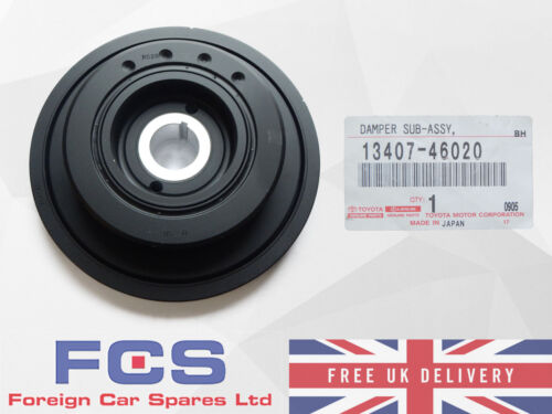 *NEW* GENUINE 93-96 TOYOTA SUPRA JZA80 2JZ CRANKSHAFT DAMPER PULLEY 13407-46020