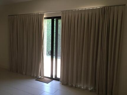 Curtains and tracks - autumn colours | Curtains & Blinds | Gumtree ...