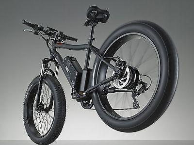 Fat Tire 48 V 500w  26' Kenda SAMSUNG Battery Mountain Electric E Bike Bicycle