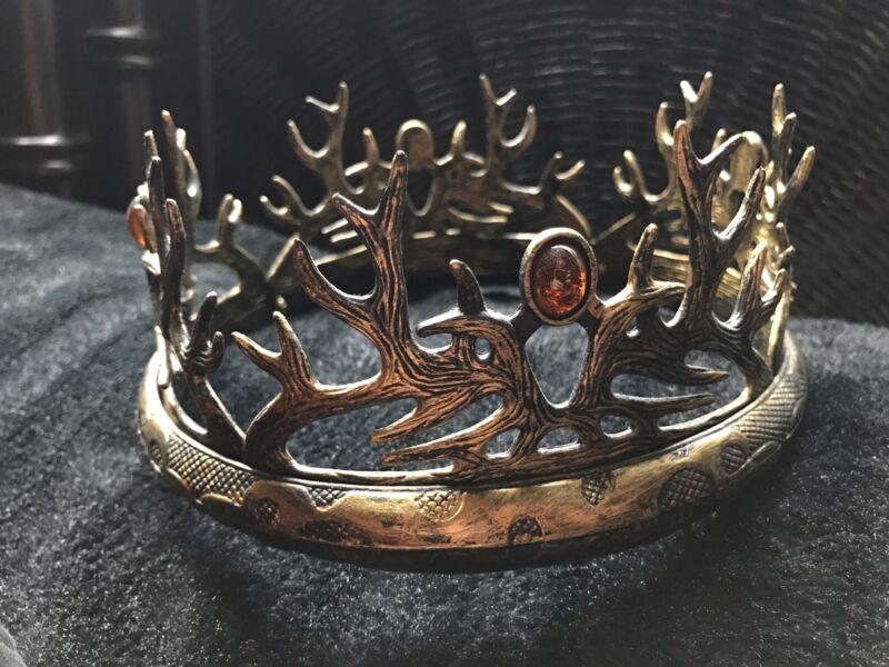 Game Of Thrones House Baratheon Crown Plastic Replica Cosplay Joffrey HBO NO BOX