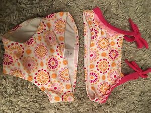 Girls bathing suits various sizes