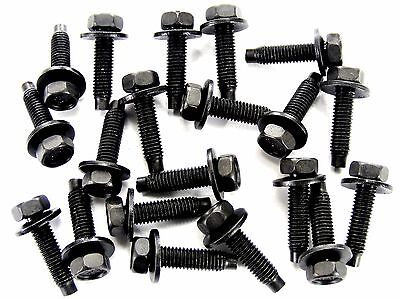 Dodge Truck Bolts- M5-.80 x 20mm Long- 8mm Hex- 12mm Washer- 20 bolts- #167