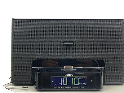 Sony ICF-CS15ip Personal Audio Docking System Alarm Clock & Radio