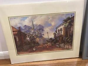 """Darcy Doyle """"Hopscotch"""" print. Ormiston Redland Area Preview"""