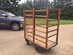 Antique trolley cart Strathcona County Edmonton Area image 2