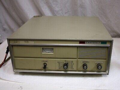 Vintage Motorola Super Consolette High Vhf 136-174mhz Two Way Radio 40w Mocom