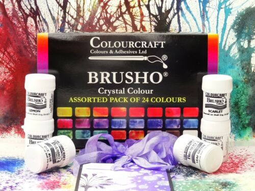 Brusho%C2%AE+24+x+15g+Starter+set+Non+Toxic+%2A%2A%2A%2BFREE+WAX+RESIST+STICKS%21%21%21%2A%2A%2A