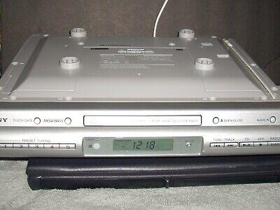 Sony ICF-CDK50 Under Cabinet Kitchen AM FM Radio CD Player Remote - Refurbished