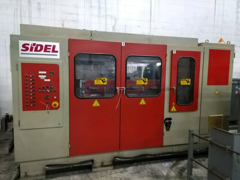 Sidel Sbo 2/3 Stretch Reheat Blow Molding Machine Yr 2000