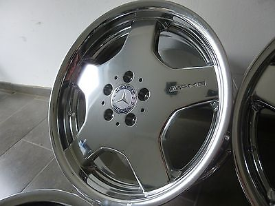 orig. AMG Felgen 8,5 + 9,5 x 18 Mercedes W220 W212 W211 R129 W204 W207 W209 W140 online kaufen