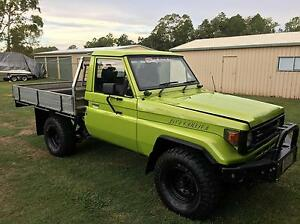 Hzj75 series land cruiser ute Caboolture Caboolture Area Preview