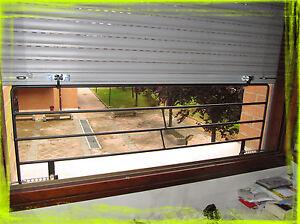 Grata inferriata griglia di sicurezza gst per tapparelle serrande porte finestre ebay - Serrande per finestre ...