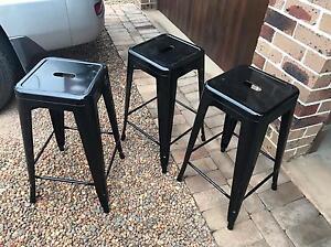 3 bench stools Elderslie Camden Area Preview