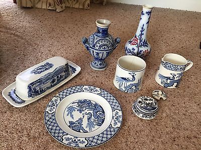 Mixed Lot Blue And White China