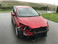 Ford FOCUS 1.0 SCTi ECOBOOST TITANIUM 2012 (62) DAMAGED REPAIRABLE