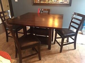 Pub table and chairs NOW $450