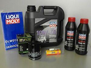 wartungs set tgb target 550 blade 550 mit oil filter spark plug service. Black Bedroom Furniture Sets. Home Design Ideas