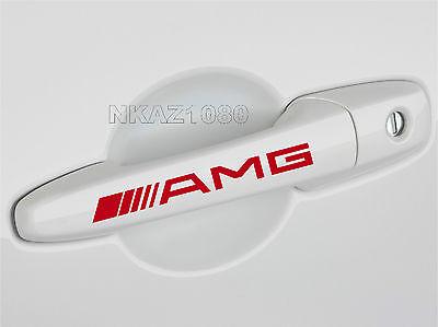 AMG Mercedes Benz C55 CLK E55 CLS63 E63 Door Handle Decal sticker emblem logo BL