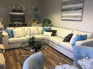 Custom Sectional with Wedge London Ontario image 1