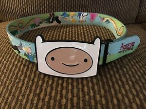 Reversible Adventure Time Belt & Buckle Marshall Lee Fionna Cake Prince Gumball