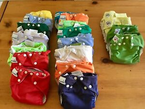 Cloth diapers size small