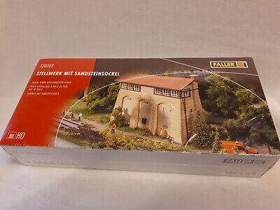 Faller 120103 Bausatz Stellwerk mit Sandsteinsockel H0 Ep. II