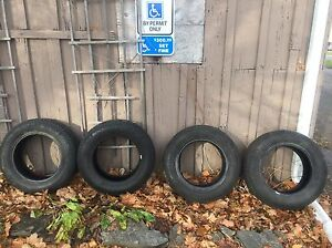 4 Winter Tires - Michelin X Ice - 205/65/15 Peterborough Peterborough Area image 1