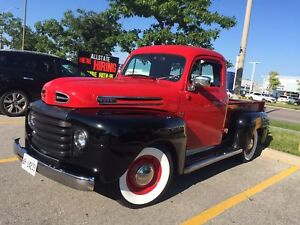 ((1950)) Ford F100 Ford Pickup Truck
