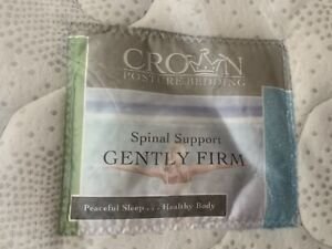 Crown Posture Bedding Spinal Support (gently firm) MATTRESS DB