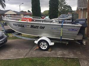 Seajay magnum 4.55fishing boat tinny Fletcher Newcastle Area Preview