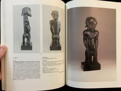 SOTHEBYS IMPORTANT TRIBAL ART HELEN & MACE NEUFELD COLLECTION 1989 DOGON FANG