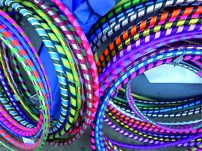 Multicolour Hula Hoop Children's Adult Fitness Activity Plastic Hoola Hoop - Kids Hula Hoop