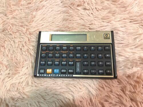 Hewlett Packard HP 12C Calculator with Case  USA