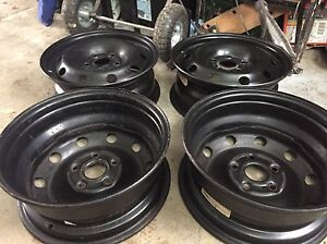 Mags rims steelies 15 pouce inches