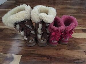 Girls Uggs size 5 and 3