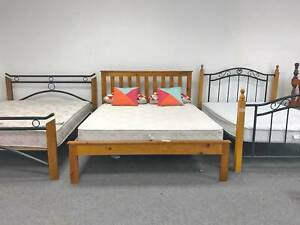 DELIVERY TODAY STRONG SOLID Queen bed frame (mattress available) Belmont Belmont Area Preview