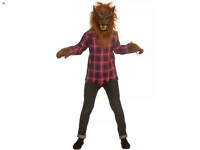 Boys Kids Childs Age 11/13 Scary Werewolf Halloween Fancy Dress Costume Outfit - Halloween Costumes For Boys Age 11