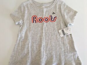 New With Tags ROOTS T-shirt. Size 5T.