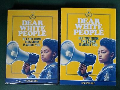 Dear White People  Season One 1  Dvd  Free Shipping  Sealed  Brand New  W  Slip