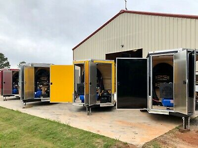 Spray Foam Equipment Shore Power Graco A-25 Spray Foam Trailer. Spray Foam