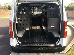 Hyundai iLoad 2012 - immaculate and complete Tradesman's setup Mulgrave Monash Area Preview