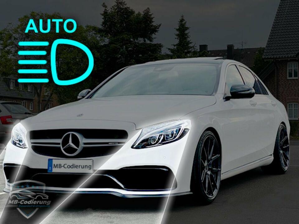 Mercedes Fernlichtassistent IHC codieren W204 W205 W212 W213 W218 in Düsseldorf