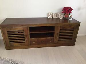 TV Entertainment Cabinet & Coffee Table North Narrabeen Pittwater Area Preview