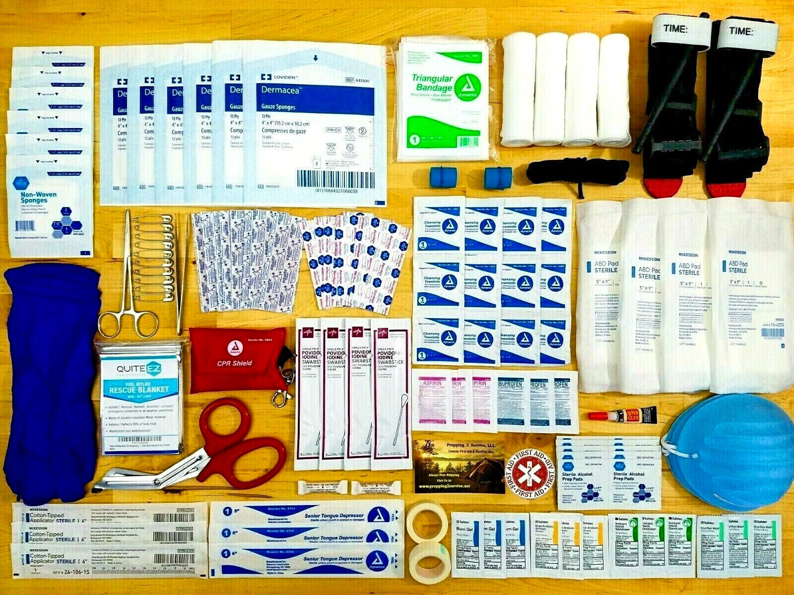 NEW FIRST AID TRAUMA KIT - TACTICAL WOUND CARE EMERGENCY DISASTER PACK - MEDICAL KIT