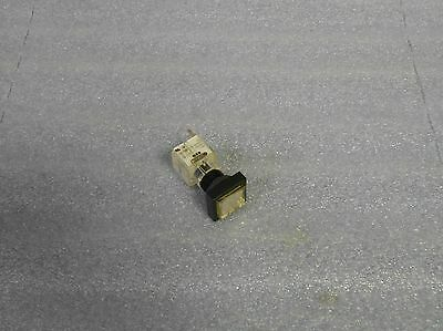 Schlegel Contact Block, BZO, BZ0, White Push Button, Used, Warranty
